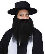 Jewish Halloween Costume Zz Beard Accessories Ebay