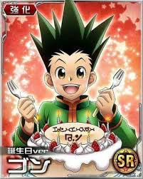 happy birthday gon hunter x hunter amino
