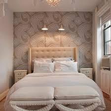 cream nailhead trim wallpaper design ideas