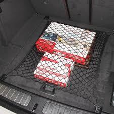 juke nismo trunk car trunk hatchback elastic mesh net storage holder 4hook for