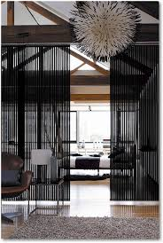 blind alley panel track sliding window treatments