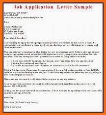sample cover letter for application cover letter sample sample
