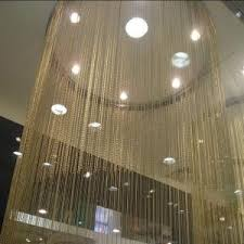 Chain Room Dividers - metal beaded curtains ball chain metal curtain shimmer screen door