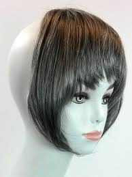 hair extensions for thinning bangs clip on bangs hair extension 100 kanekalon gray auburn blonde