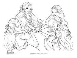 Dessin De Barbie A Imprimer  Huntcounty