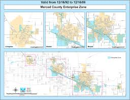San Diego County Zoning Map by Enterprise Zone Program