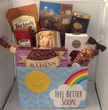 feel better soon gift basket get well soon gift baskets all wrapped up gift baskets