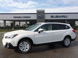 subaru outback 2018 white new car features and specials cross creek subaru fayetteville nc