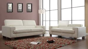 White Leather Sofa Set Homelegance Vernon Sofa Set White Bonded Leather U9603wht 3