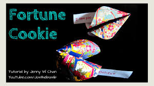valentine u0027s day crafts how to make a paper fortune cookie