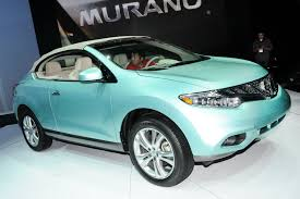 nissan murano drop top nissan murano crosscabriolet live photos from la show plus video