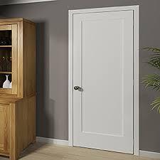 Panel Interior Door Kiby Shaker 1 Panel Wood Slab Interior Door Reviews Wayfair