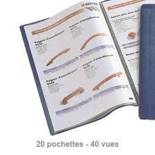 fournitures de bureau fiducial protège documents fiducial a4 20 poches bleu fournitures de bureau