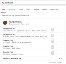 my google play order find your purchases using google