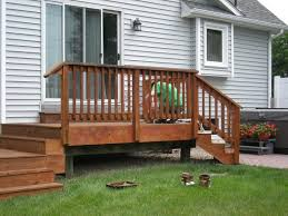 how to u0026 repairs building small deck stairs building deck stairs