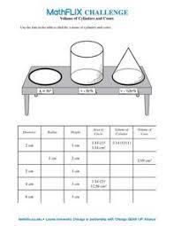 volume of a sphere worksheet