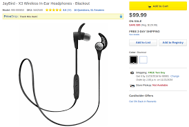 timming for best buy black friday deals 2016 deal alert jaybird x3 wireless in ear headphones are 100 30