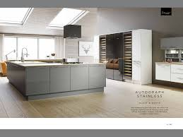 wren kitchen rather than go for colour in cabinet doors stick yo