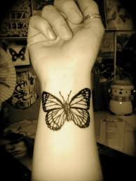 monarch butterfly on wrist butterfly wrist tattoos
