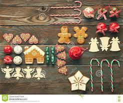 christmas homemade decoration flat lay stock photo image 78114549