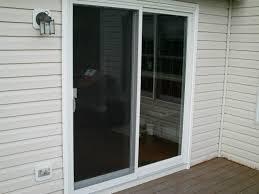 exterior doors with blinds between glass patio ideas guardian patio door with white wooden door and