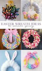 easter wreath ideas welcome spring our days