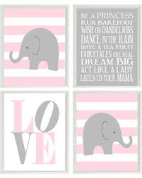 Pink And Gray Nursery Decor New Shopping Special Baby Nursery Elephant Nursery
