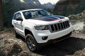 white convertible jeep introducing the 2013 jeep grand cherokee trailhawk the jeep blog