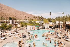 Patio Doctor Palm Springs Ace Hotel U0026 Swim Club Boutique Resort Hotel In Palm Springs