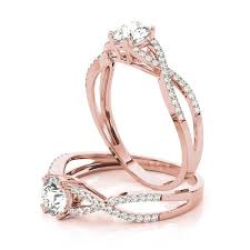intertwined wedding rings intertwined engagement rings from mdc diamonds nyc
