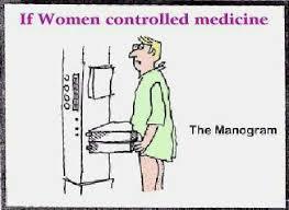 if women controlled medicine a boob poem the manogram
