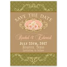 vintage rustic save the date cards luxury so lovely