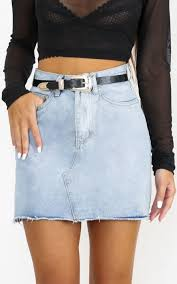 light wash denim skirt just like smoke denim skirt in mid wash all your fashion musthaves