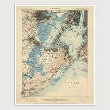 Map Staten Island Usgs Topographic Map Of Staten Island Newark And Jersey City