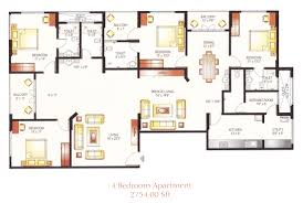 Townhouse Blueprints by 4 Bedroom Flat Plan Design Latest Gallery Photo