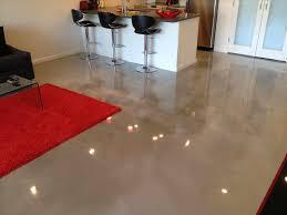 portland oregon building stained concrete floors kitchen an