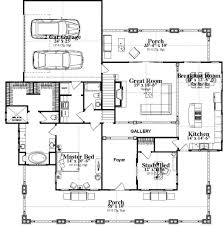bungalow style house plan 4 beds 3 baths 3326 sq ft plan 63 404