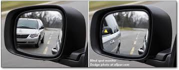 Best Place For Blind Spot Mirror Chrysler Minivans 2011 17 Dodge Caravan And Town U0026 Country