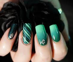 teal nails the adorned claw