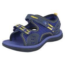infant junior boys clarks u0027 open toe riptape strap sandals