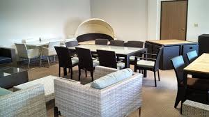 dining room tables san diego patio productions opens san diego patio furniture showroom