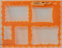 fiskars frame 1 4859 scrapbooking pattern template te8 fiskars