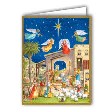 nativity boxed cards paperstyle