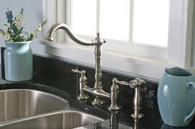 kohler white kitchen faucets flapjack design best buy white image of kitchen faucet with side spray