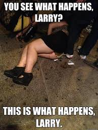 Larry Meme - you see what happens larry this is what happens larry funny