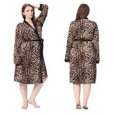 robe de chambre leopard robe de chambre leopard pour homme