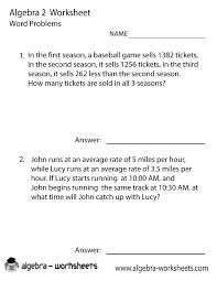 algebra 2 printable worksheets worksheets