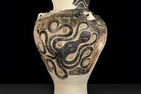 Minoan Octopus Vase Antiquities Ashmolean Museum