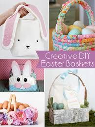 diy easter basket ideas creative diy easter basket ideas the scrap shoppe