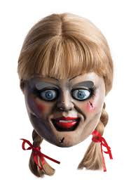 annabelle costume the conjuring annabelle mask possessed haunted doll unisex